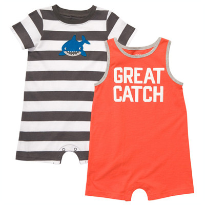 [#202A230BX] Carter's2-Pack Romper Set