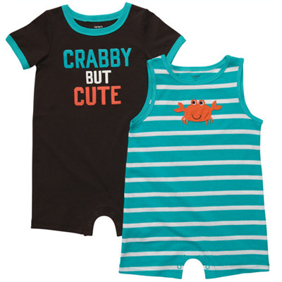 [#202A225BX] Carter's2-Pack Romper Set