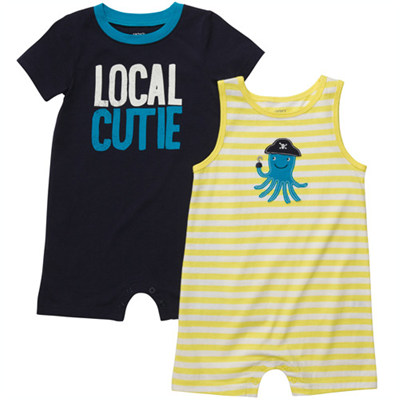[#202A229BX] Carter's2-Pack Romper Set