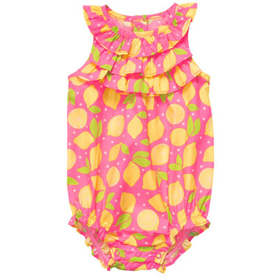 [#216A254BY] Carter's1-Piece Poplin Sunsuit
