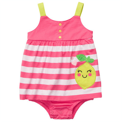 [#216A253BY] Carter's1-Piece Strappy Sunsuit