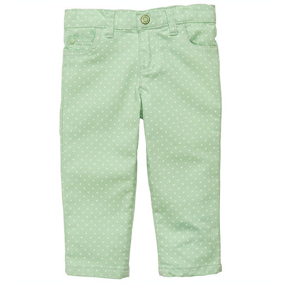 [236A463CO] Carter'sPolka Dot Colored Denim
