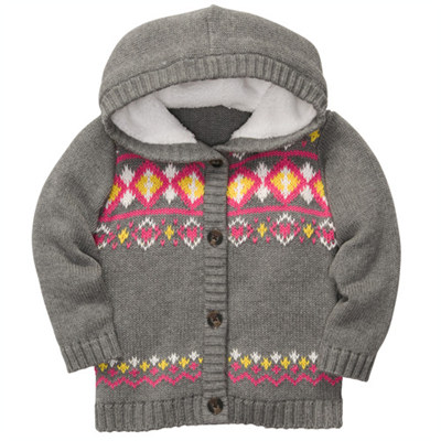 [235A989CX] Carter'sHooded Knit Cardigan