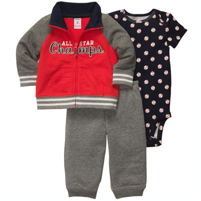 [121B819CZ] Carter'sTerry Cardigan Set