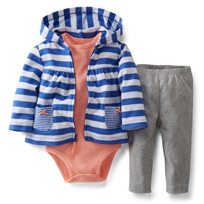 [121C196DA] Carter's3-Piece Cardigan Set