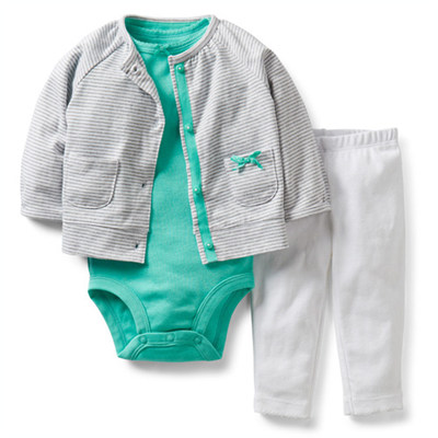 [121C212DE] Carter'sSpring Into Cardigan Set
