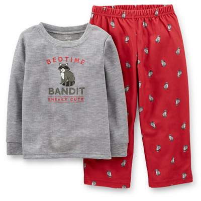 [327-672DQ] Carter'sThermal & Fleece Pjs