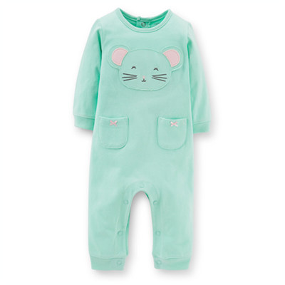[118-925DT] Carter'sMicrofleece Jumpsuit