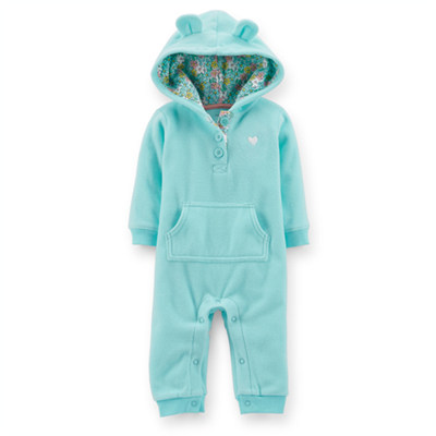 [118-928DT] Carter'sMicrofleece Jumpsuit