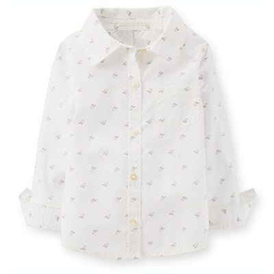 [235B311JD] Carter'sPrint Button-front Shirt