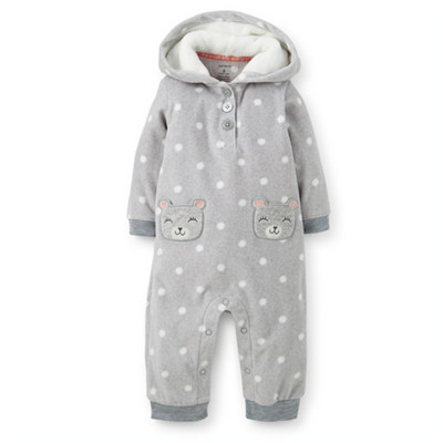 [118-934JG] Carter'sMicrofleece Jumpsuit
