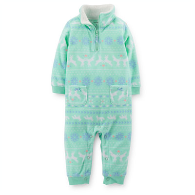[118-935JG] Carter'sMicrofleece Jumpsuit