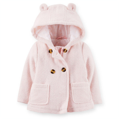 [C214519B27] Carter'sHooded Baby Coat