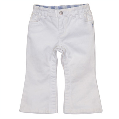 [236-200T17] Carter'sWhite 5-Pocket Jeans