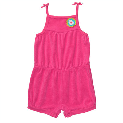 [#216-110T56] Carter'sBright Terry Sunsuit
