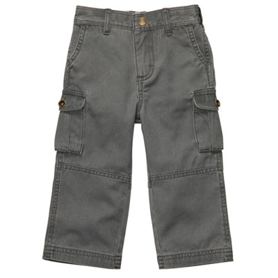 [224A049T36] Carter'sTwill Cargo Pants