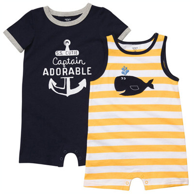 [#202A098AH] Carter's2-Pack Romper Set