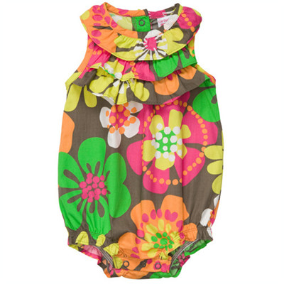 [#216A089AM] Carter's1-Piece Print Sunsuit